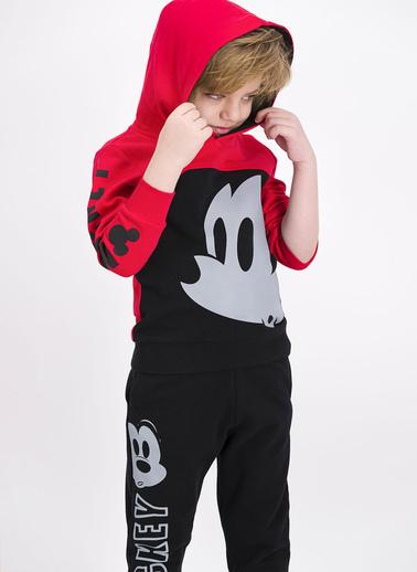 Mickey Mouse Eşofman Takım Kırmızı